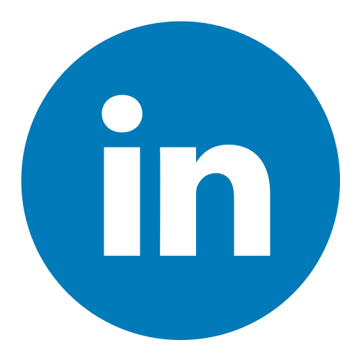 linkedin circle color 512